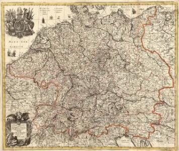 Tabula Geographica totius S[acri] Imperii Romani
