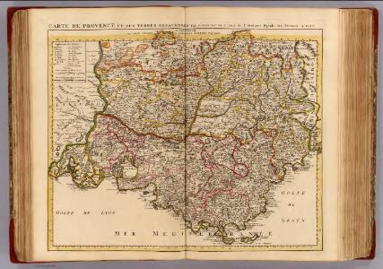 Provence, terres adjacentes.