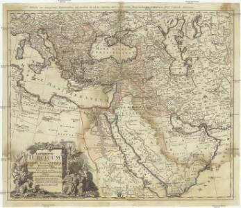 Imperium Turcium in Europa, Asia et Africa, regiones proprias, tributarias, clientelares