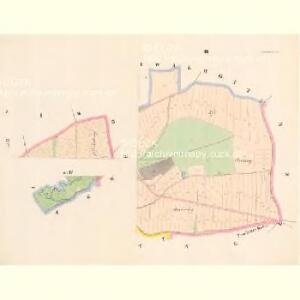 Poderzischt - c5880-1-003 - Kaiserpflichtexemplar der Landkarten des stabilen Katasters