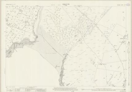 Anglesey XXI.7 (includes: Aberffro; Llangadwaladr) - 25 Inch Map