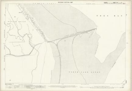 Durham XLV.8 (includes: Redcar; Seaton) - 25 Inch Map