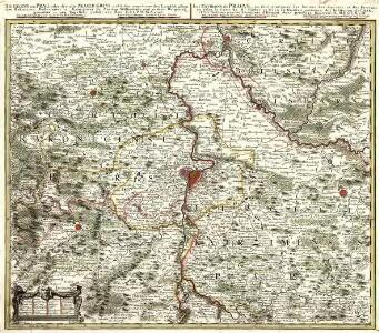 Die Gegend um Prag, oder der alte Prager Kreys, nebst den angrenzenden Landschafften des Rakonizer, Boleslawer u. Kaurzimer Cr.