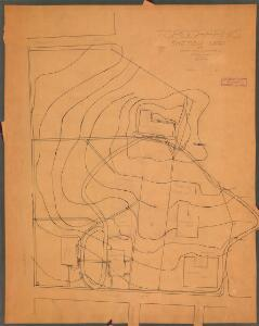 Topographic sketch map of part of U. W. campus, April 1904