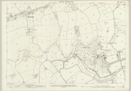 Essex (1st Ed/Rev 1862-96) XLI.4 (includes: Hatfield Broad Oak; Matching; Sheering) - 25 Inch Map