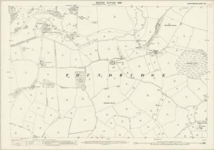 Hertfordshire XXX.1 (includes: Standon; Thundridge; Ware Rural) - 25 Inch Map