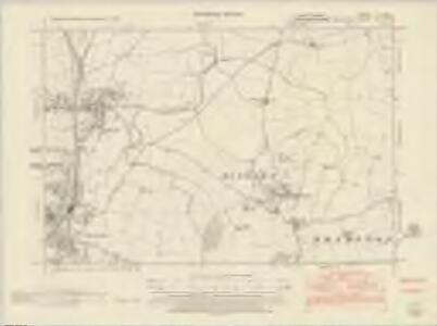 Leicestershire LI.NW - OS Six-Inch Map