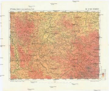 Podrobné mapy zemí Koruny české v měřítku 1:75.000 a mapy vzdáleností všech míst při silnici ležících
