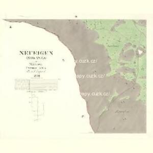 Neueigen (Nowawes) - m2042-1-004 - Kaiserpflichtexemplar der Landkarten des stabilen Katasters