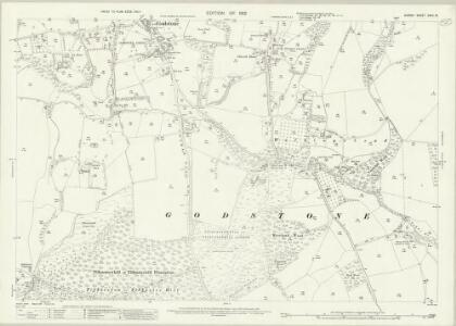 Surrey XXVII.15 (includes: Bletchingley; Godstone) - 25 Inch Map