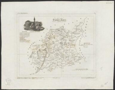 [Atlas départemental : La France et ses colonies] No. 4 Basses Alpes