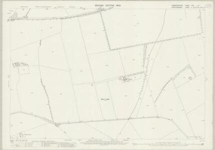 Cambridgeshire LVIII.15 (includes: Barkway; Barley; Melbourn; Royston) - 25 Inch Map
