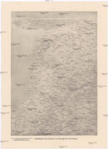Reliefkarte der Ostsee von Danzig bis Petersburg