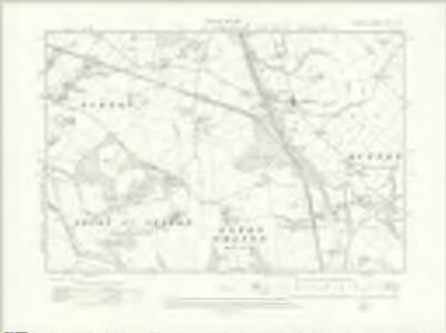 Cheshire XXV.SW - OS Six-Inch Map