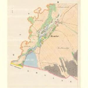 Zautke (Zudkow) - m2944-1-002 - Kaiserpflichtexemplar der Landkarten des stabilen Katasters