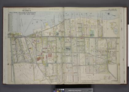 Part of Ward 4. [Map bound by Pier Line, New York     Ave, Lyman Ave, Fingerboard Road, Fletcher St, Oak St, Fox Hill Golf Links,      Vanderbilt Ave]