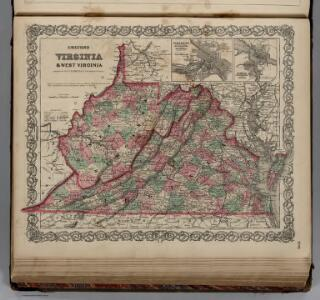 Virginia and West Virginia.