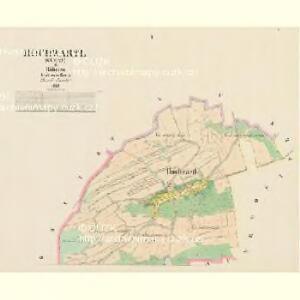 Hochwartl (Straz) - c7395-1-001 - Kaiserpflichtexemplar der Landkarten des stabilen Katasters