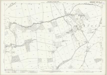 Worcestershire XXVI.5 (includes: Bockleton; Hampton Charles; Hatfield; Thornbury) - 25 Inch Map