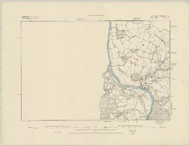 Staffordshire LXXA.SE - OS Six-Inch Map