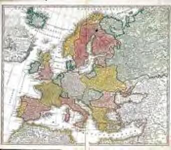 Europa christiani orbis domina in sua imperia regna et status exacte divisa