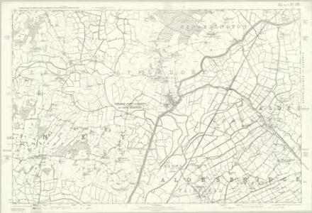 Kent LXXX - OS Six-Inch Map