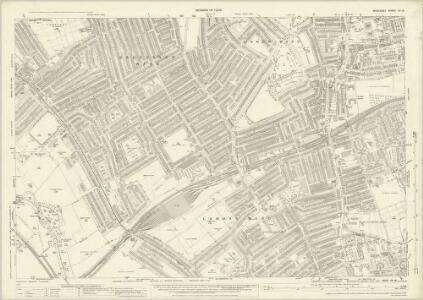 Middlesex XV.16 (includes: Ealing St Mary; New Brentford; Old Brentford) - 25 Inch Map