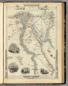 Egypt, And Arabia Petraea.