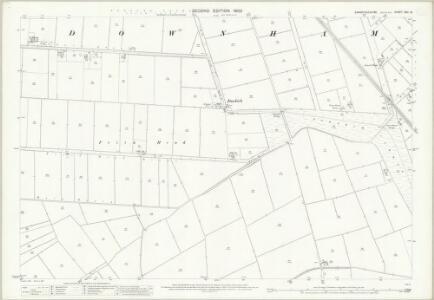 Cambridgeshire XXII.13 (includes: Downham) - 25 Inch Map