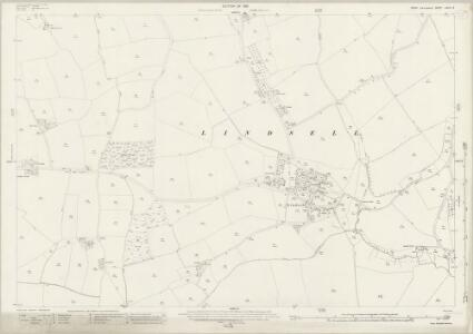 Essex (New Series 1913-) n XXIV.12 (includes: Great Easton; Lindsell) - 25 Inch Map