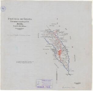Mapa planimètric de Breda