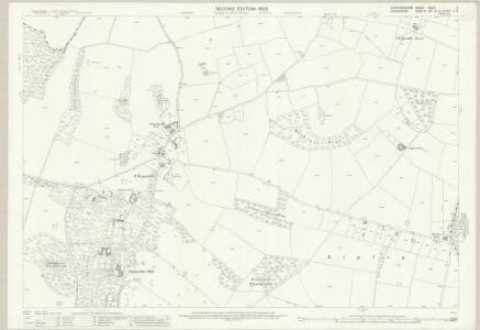 Staffordshire XXVIII.7 (includes: Cheswardine; Eccleshall; Tyrley) - 25 Inch Map