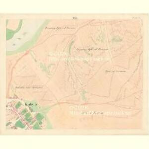 Kobyly - m1226-1-008 - Kaiserpflichtexemplar der Landkarten des stabilen Katasters