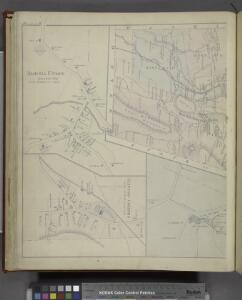 Amenia Union [Village]; Clinton Corners [Village]; Sharon Station [Village]; Map of Amenia Township.