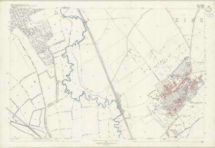 Gloucestershire XXIX.4 (includes: Bledington; Churchill; Kingham; Oddington) - 25 Inch Map