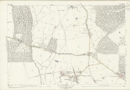 Warwickshire XLII.8 (includes: Abbots Morton; Arrow; Salford Priors; Weethley) - 25 Inch Map