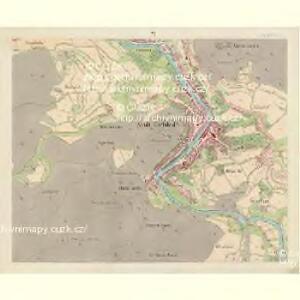 Karlsbad - c3056-1-005 - Kaiserpflichtexemplar der Landkarten des stabilen Katasters