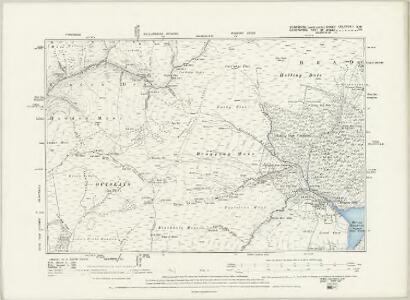 Yorkshire CCLXXXVIA.NE - OS Six-Inch Map