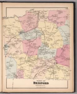 Town of Bedford, Westchester County, New York.