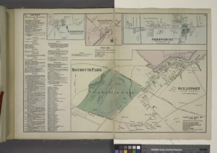 Long Beach Business Notices. ; Leedsville [Village]; Tinton Falls [Village]; Tinton Falls Business Notices. ; Shrewsbury [Village]; Monmouth Park and Oceanport [Villages]; Oceanport and Vicinity Monmouth Park Business Notices.