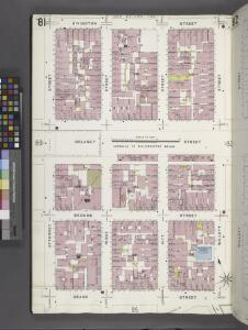 Manhattan, V. 1, Plate No. 81 [Map bounded by Rivington St., Cannon St., Grand St., Attorney St.]