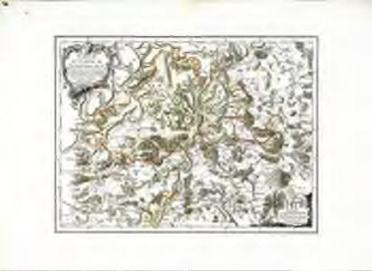 Carte du canton de Schafhausen