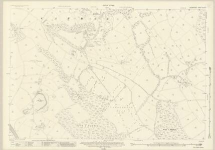 Glamorgan XLVII.1 (includes: Cardiff; Lecwith; Michaelston Le Pit; Wenvoe) - 25 Inch Map