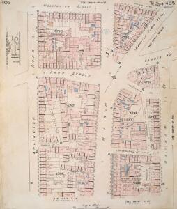 Insurance Plan of London Vol. xi: sheet 405