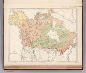 Facsimile:  Map of North America.  Hudson's Bay Company (Arrowsmith) ordered by House of Commons