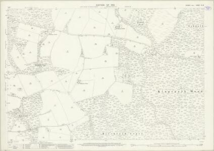 Sussex XI.8 (includes: North Chapel; Plaistow) - 25 Inch Map