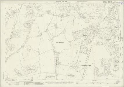 Surrey IV.11 (includes: Egham; Old Windsor) - 25 Inch Map