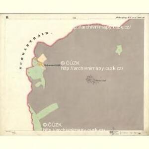 Mitterberg - c6304-2-002 - Kaiserpflichtexemplar der Landkarten des stabilen Katasters