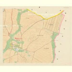 Lhotta untern Gebirg - c3936-1-004 - Kaiserpflichtexemplar der Landkarten des stabilen Katasters