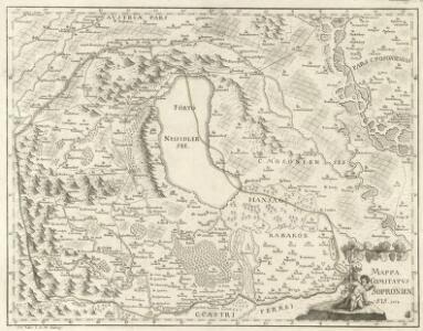 Mappa Comitatvs Soproniensis 1758